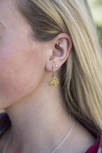 Image For EARRINGS FILIGREE TOWSON