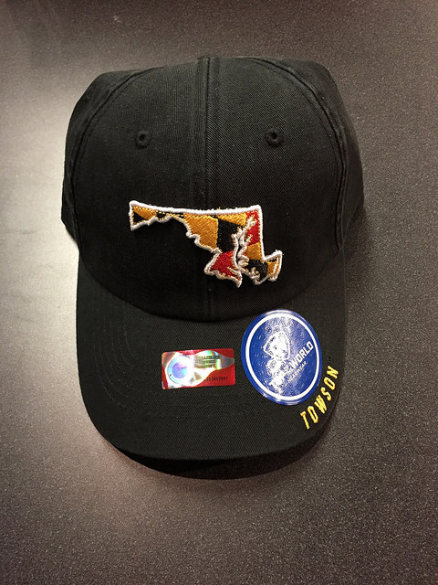 Image For BLACK MD STATE TOWSON HAT