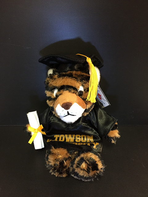 Image For PLUSH TIGER TU GRADUATE