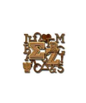 Image For WOODEN LETTERS EXTRA-SMALL