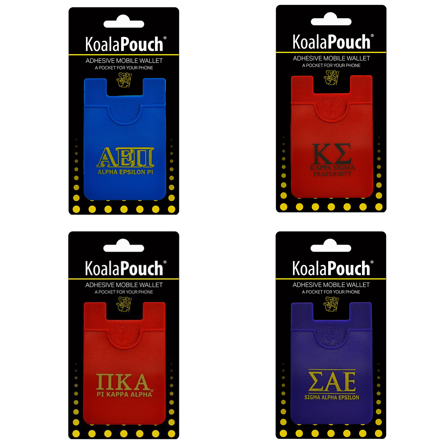 Image For FRATERNITY KOALA PHONE POUCH