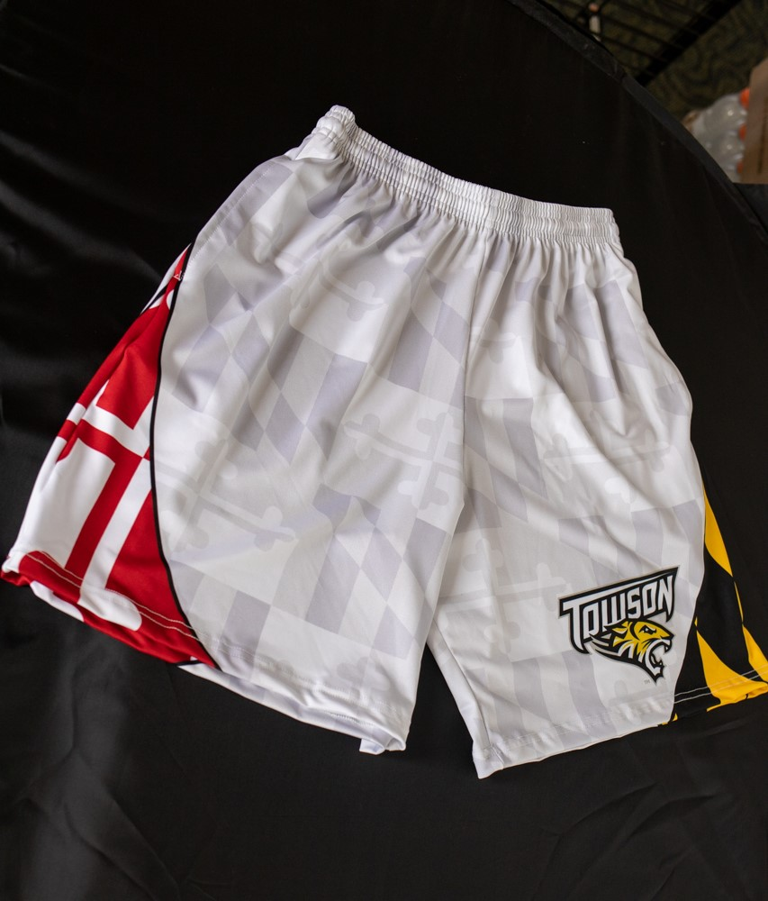 Image For SHORTS TOWSON MD FLAG SUBLIMATED