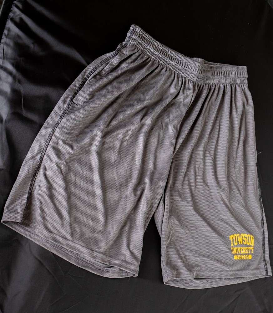 Image For SHORTS TOWSON TIGERS MESH
