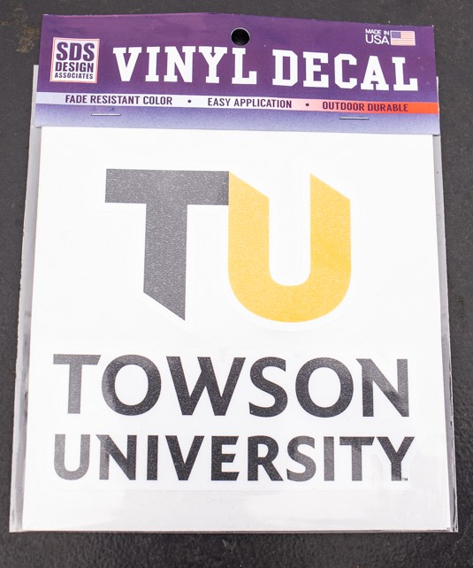 Image For DECAL TU BRAND VINYL 6""