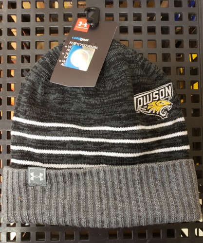 Image For UA YOUTH KNIT HAT - BLACK/GRAY