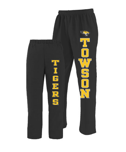 Image For SWEATPANT FRONT/BACK OPEN BOTTOM