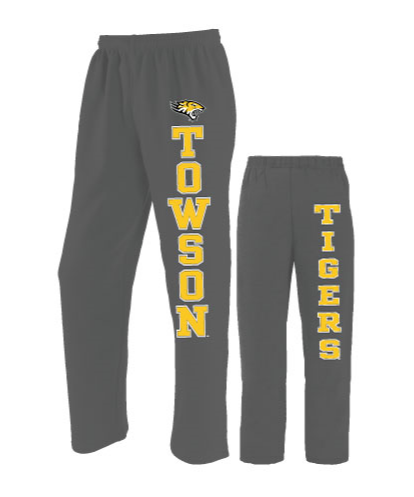 Image For SWEATPANT FRONT/BACK OPEN BOTTOM 2XL