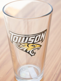 Image For GLASS PINT MASCOT 16OZ