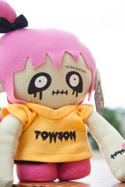 Image For PLUSH ZOMBIE TOWSON GIRL