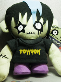 Image For PLUSH ZOMBIE TOWSON BOY