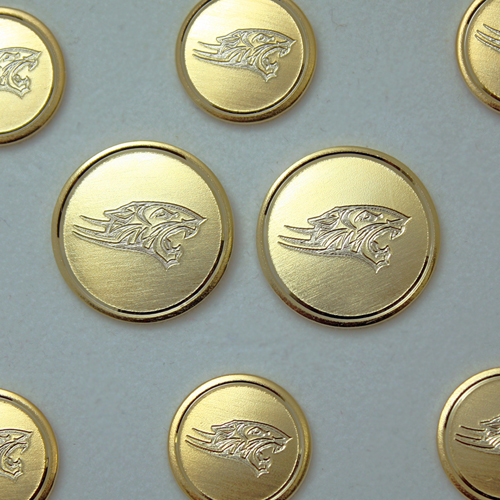 Image For BLAZER BUTTON SET GOLD